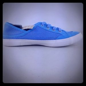 """Womens MAURICES Sz 10M Sky Blue Sneakers """"MEREDITH"""